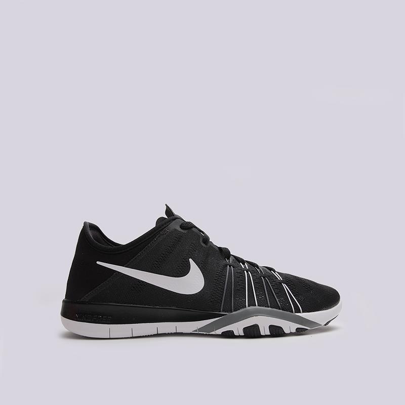 Кроссовки Nike WMNS Free TR 6Кроссовки lifestyle<br>текстиль, пластик, резина<br><br>Цвет: Черный<br>Размеры US: 6;6.5;7;7.5<br>Пол: Женский