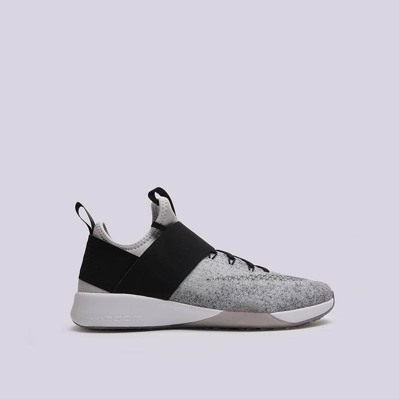 Кроссовки Nike WMNS Air Zoom StrongКроссовки lifestyle<br>текстиль, резина<br><br>Цвет: Черный<br>Размеры US: 6;9<br>Пол: Женский