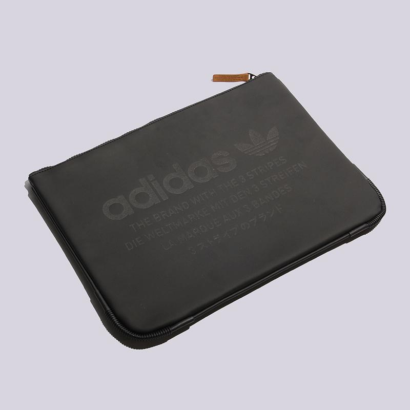 Сумка для ноутбука adidas Originals Sleeve BagСумки, рюкзаки<br>полиэстер<br><br>Цвет: Черный<br>Размеры UK: OS