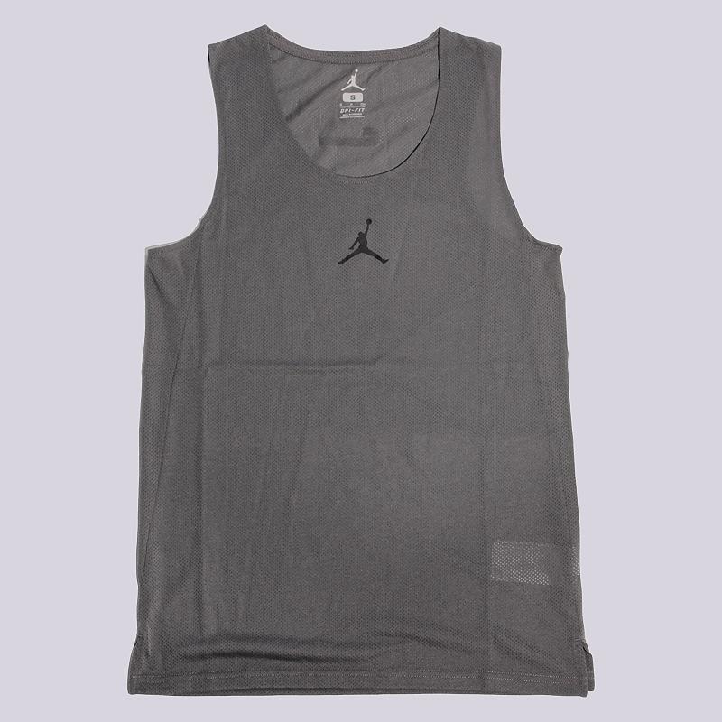 Майка Jordan Flight JerseyБезрукавки<br>полиэстер<br><br>Цвет: Серый<br>Размеры US: S;M<br>Пол: Мужской