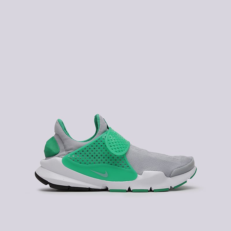 Кроссовки Nike Sock Dart KJCRDКроссовки lifestyle<br>текстиль, резина<br><br>Цвет: Серый<br>Размеры US: 10;11<br>Пол: Мужской
