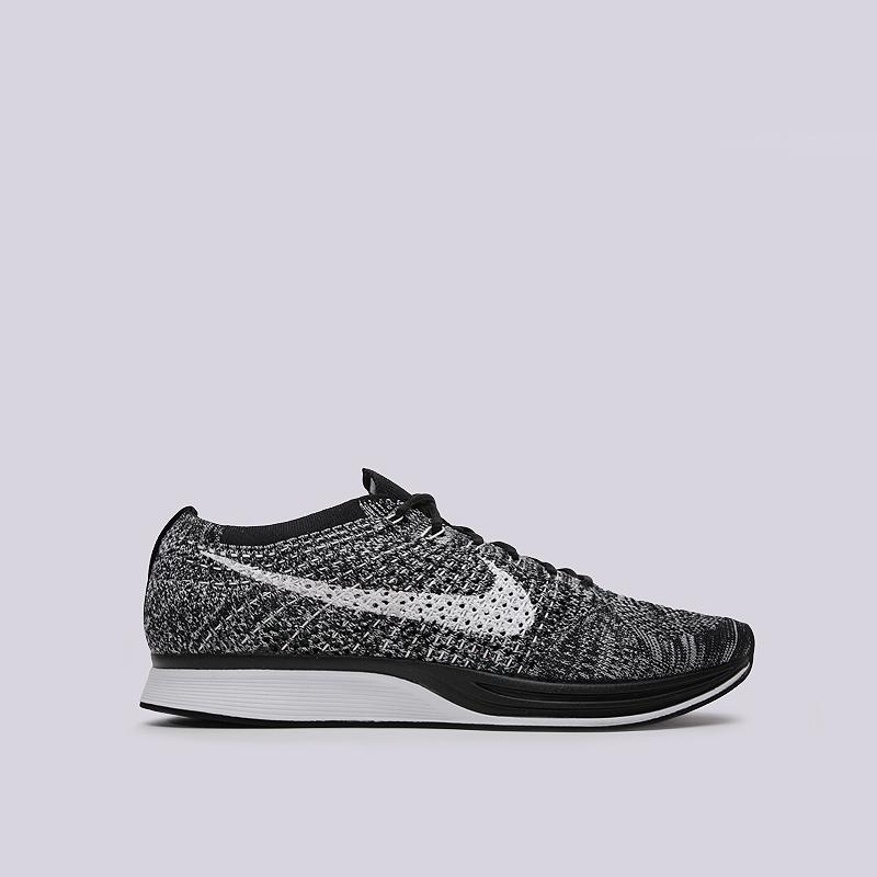 Кроссовки Nike Flyknit RacerКроссовки lifestyle<br>текстиль, резина<br><br>Цвет: Черный<br>Размеры US: 5.5;11<br>Пол: Мужской