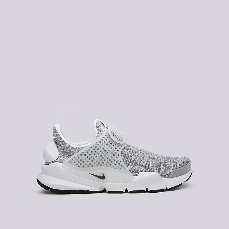 Кроссовки  Nike WMNS Sock Dart SEКроссовки lifestyle<br>Текстиль, резина, пластик<br><br>Цвет: Серый<br>Размеры US: 6<br>Пол: Женский