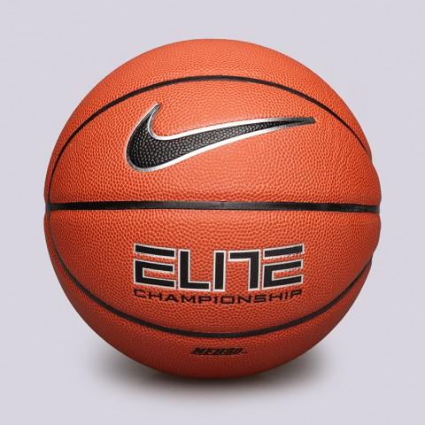 коричневый  мяч №6 nike elite championship 8-panel BB0404-801 - цена, описание, фото 1