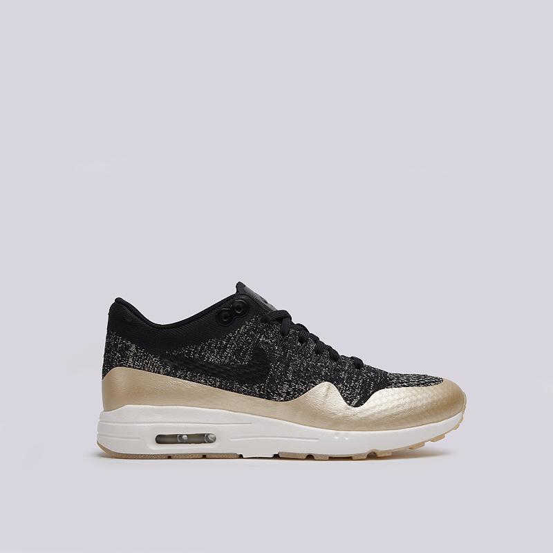 Кроссовки Nike Sportswear WMNS Air Max 1 Ultra FK MTLCКроссовки lifestyle<br>текстиль, пластик, резина<br><br>Цвет: Черный<br>Размеры US: 6;6.5;7;7.5;8<br>Пол: Женский