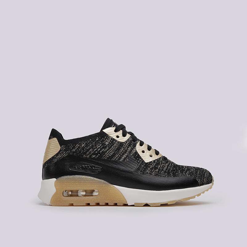 Кроссовки Nike WMNS Air Max 90 Ultra 2.0 FK MTLCКроссовки lifestyle<br>синтетика, текстиль, пластик, резина<br><br>Цвет: Черный<br>Размеры US: 6;7;8<br>Пол: Женский