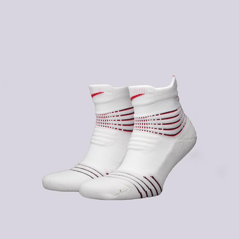 Носки Nike U NK ELT Versa LowНоски<br>49% полиэстер, 31% нейлон, 15% хлопок, 5% эластан<br><br>Цвет: Белый<br>Размеры US: M;L<br>Пол: Мужской