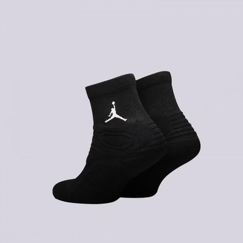 мужские черные  носки jordan ultimate flight qtr sock SX5321-011 - цена, описание, фото 2