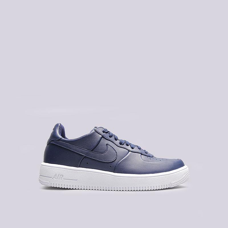 Кроссовки Nike Sportswear Air Force 1 Ultraforce LHTRКроссовки lifestyle<br>Кожа, текстиль, резина<br><br>Цвет: Синий, белый<br>Размеры US: 8;8.5<br>Пол: Мужской