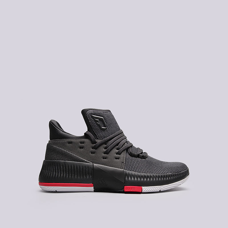 Кроссовки adidas D Lillard 3Обувь детская<br>Текстиль, синтетика, резина<br><br>Цвет: Чёрный<br>Размеры UK: 3;3.5;6;6.5<br>Пол: Детский
