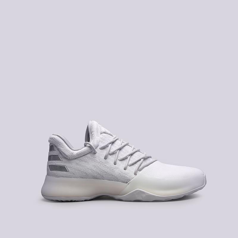 Кроссовки adidas Harden Vol.1Кроссовки баскетбольные<br>Текстиль, синтетика, резина<br><br>Цвет: Белый<br>Размеры UK: 7;7.5;8.5<br>Пол: Мужской