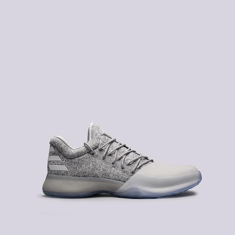 Кроссовки adidas Harden Vol.1Кроссовки баскетбольные<br>Текстиль, синтетика, резина<br><br>Цвет: Серый<br>Размеры UK: 7;7.5<br>Пол: Мужской