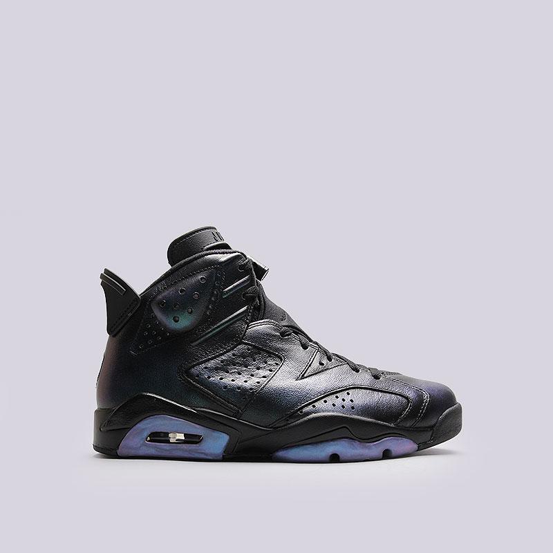 Кроссовки Jordan VI Retro ASКроссовки lifestyle<br>Кожа, текстиль, резина<br><br>Цвет: Чёрный<br>Размеры US: 14<br>Пол: Мужской