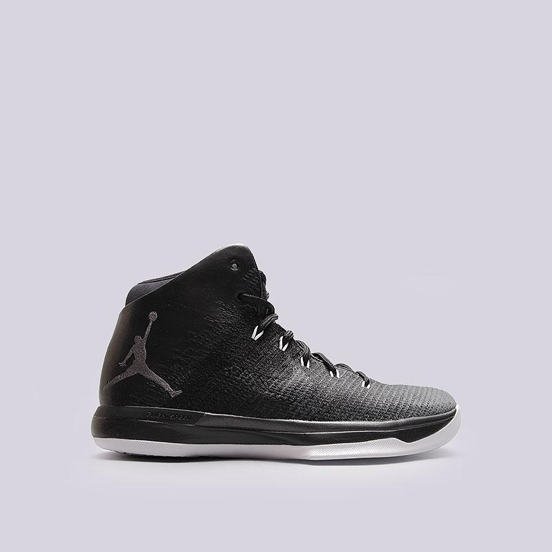 Кроссовки Jordan XXXIКроссовки баскетбольные<br>Текстиль, синтетика, резина<br><br>Цвет: Чёрный<br>Размеры US: 8;8.5;9;9.5;10;10.5;11;11.5;12<br>Пол: Мужской