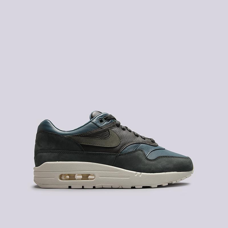 Кроссовки Nike Sportswear Lab Air Max 1 PinnacleКроссовки lifestyle<br>кожа, текстиль, резина<br><br>Цвет: Синий<br>Размеры US: 11<br>Пол: Мужской