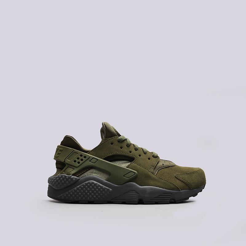 Кроссовки Nike Sportswear Air Huarache Run SEКроссовки lifestyle<br>текстиль, резина<br><br>Цвет: Зеленый<br>Размеры US: 8;11;11.5<br>Пол: Мужской