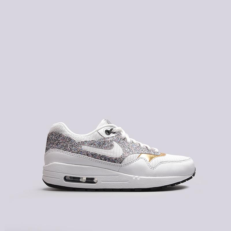 Кроссовки Nike WMNS Air Max 1 SEКроссовки lifestyle<br>текстиль, резина<br><br>Цвет: Белый<br>Размеры US: 6<br>Пол: Женский