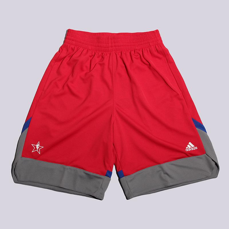 Шорты adidas AS Retail ShortШорты<br>полиэстер<br><br>Цвет: Красный<br>Размеры UK: XS<br>Пол: Мужской