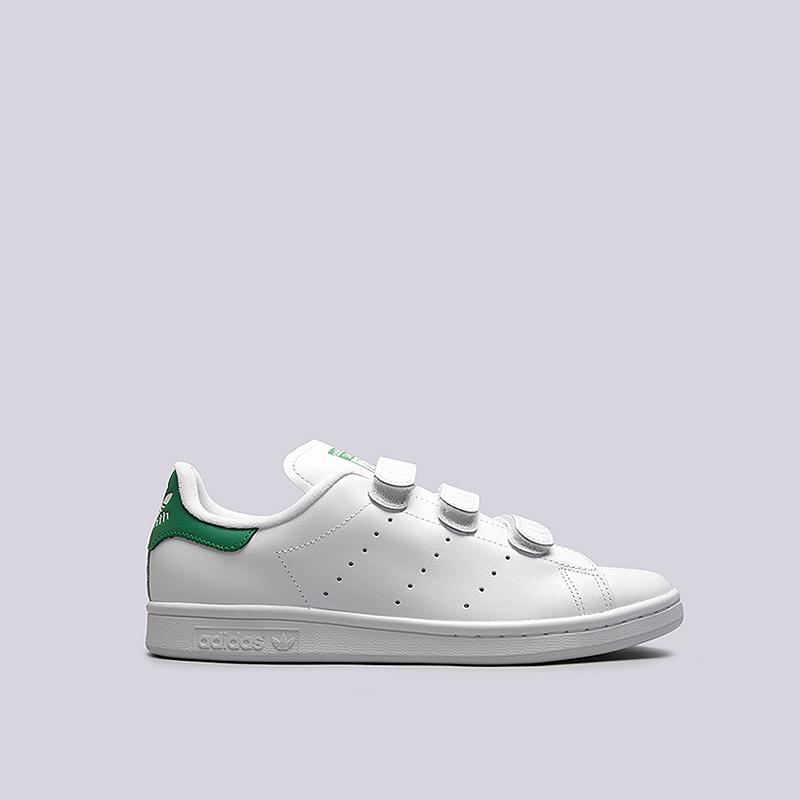 Кроссовки adidas Stan Smith CFКроссовки lifestyle<br>кожа, текстиль, резина<br><br>Цвет: Белый<br>Размеры UK: 11<br>Пол: Мужской