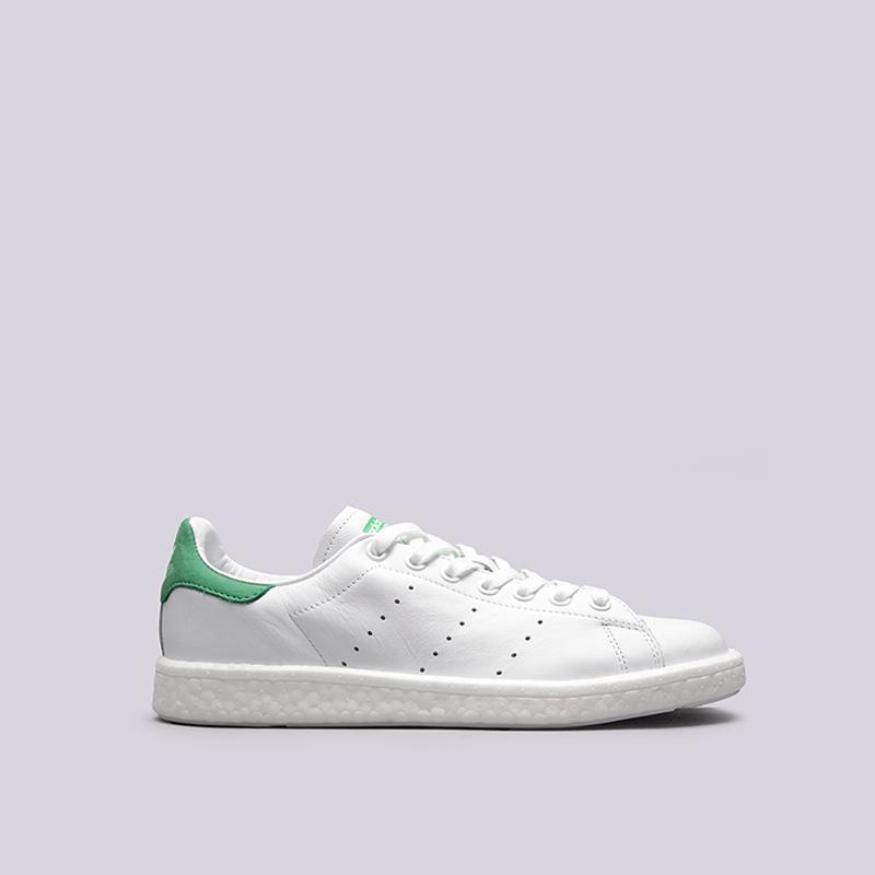 Кроссовки adidas Originals Stan SmithКроссовки lifestyle<br>кожа, текстиль, резина<br><br>Цвет: Белый<br>Размеры UK: 7;8;8.5;10<br>Пол: Мужской
