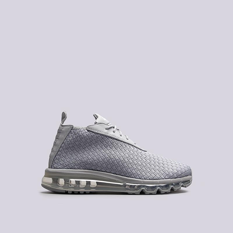 Кроссовки Nike Sportswear Air Max Woven BootКроссовки lifestyle<br>кожа, синтетика, текстиль, резина<br><br>Цвет: Серый<br>Размеры US: 7.5;8;8.5<br>Пол: Мужской