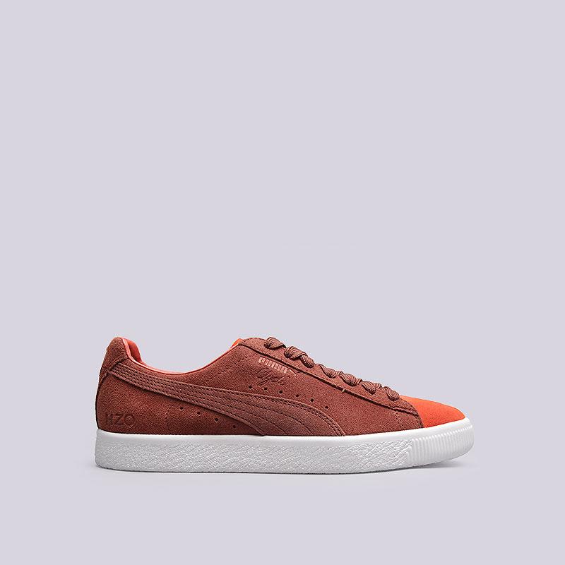 Кроссовки  Puma Clyde x Patta IIКроссовки lifestyle<br>Кожа, резина<br><br>Цвет: Оранжевый<br>Размеры UK: 7;9<br>Пол: Мужской