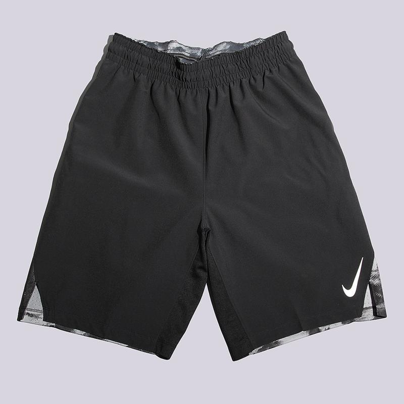 Шорты Nike M Short Hyperlite Stripe ASWШорты<br>полиэстер<br><br>Цвет: Черный<br>Размеры US: L<br>Пол: Мужской