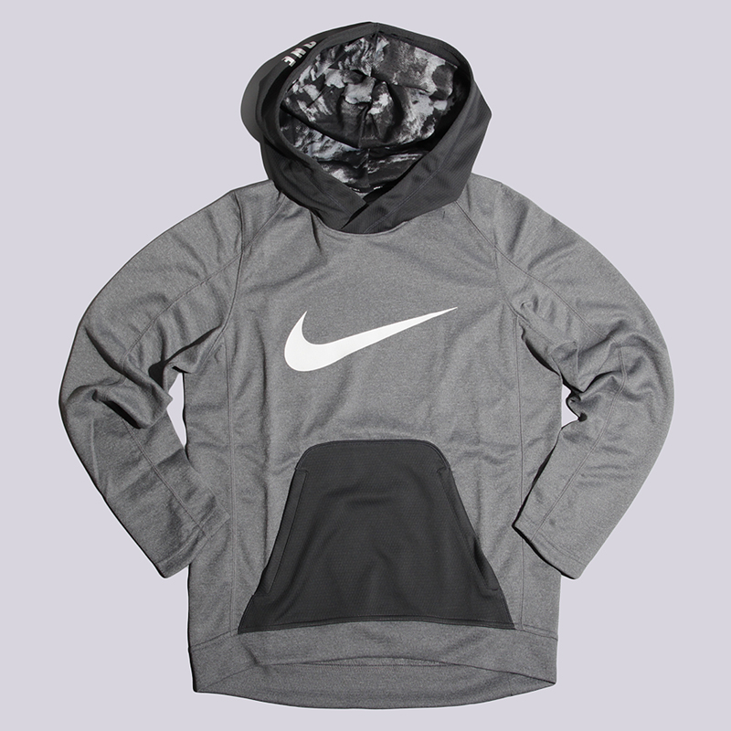 Толстовка Nike M Hoodie PO HPRELT ASWТолстовки свитера<br>полиэстер<br><br>Цвет: Серый<br>Размеры US: S<br>Пол: Мужской