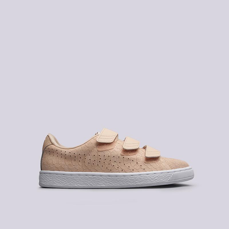 Кроссовки Puma Basket Strap ExoticSkin Wn`s
