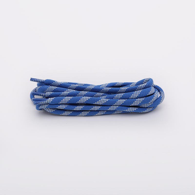 синие  шнурки sneakerhead x maggi gad SNK СИН/БЕЛ - цена, описание, фото 1