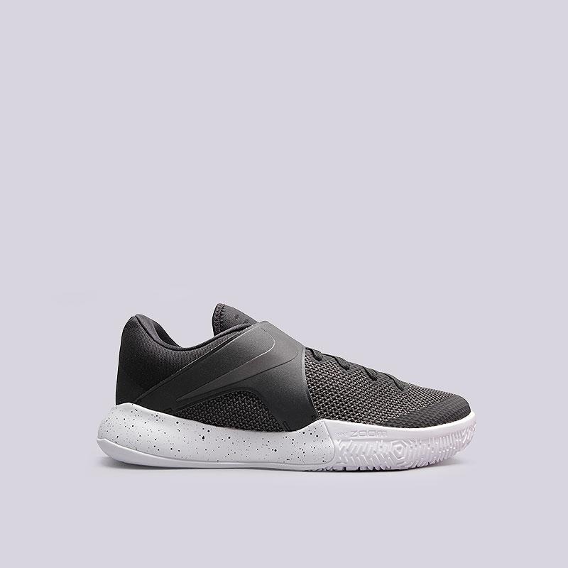 Кроссовки Nike Zoom LiveКроссовки баскетбольные<br>Текстиль, пластик, резина<br><br>Цвет: Чёрный<br>Размеры US: 8.5<br>Пол: Мужской