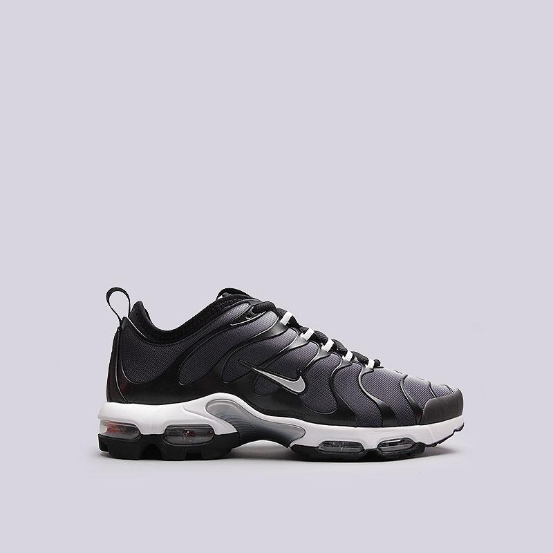 e7cb2273 мужские чёрные, белые кроссовки nike air max plus tn ultra 898015-001 - цена