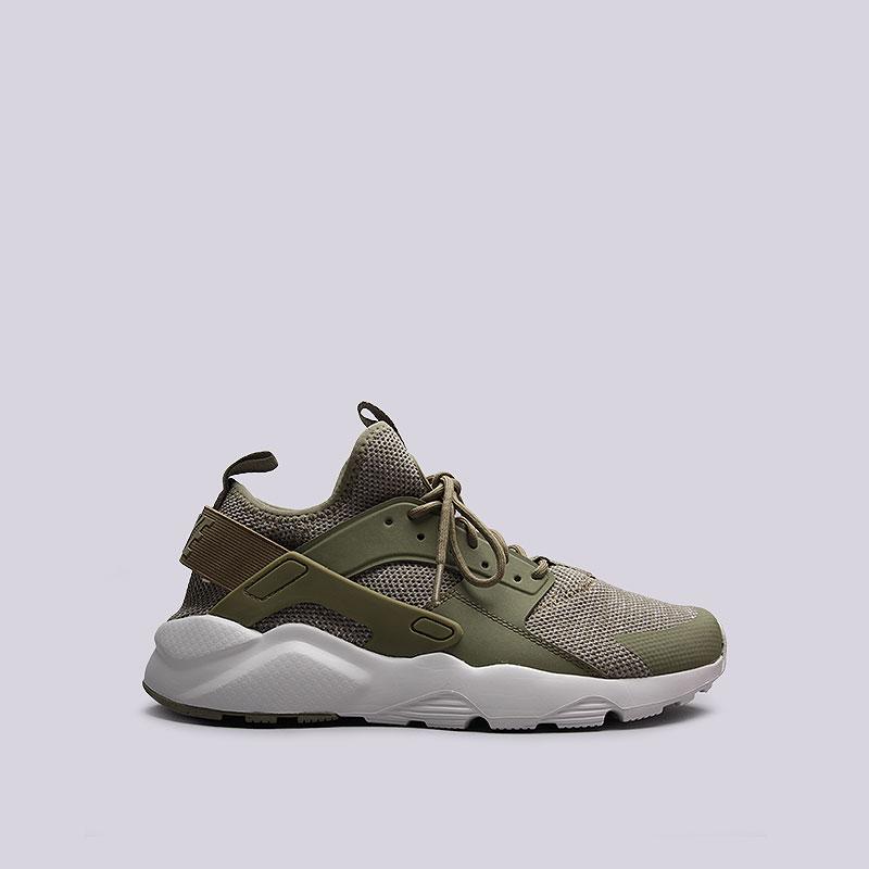Кроссовки  Nike Sportswear Air Huarache Run Ultra BRКроссовки lifestyle<br>Текстиль, пластик, резина<br><br>Цвет: Зелёный<br>Размеры US: 10.5<br>Пол: Мужской