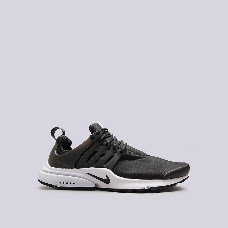 0f9371dc мужские чёрные, белые кроссовки nike air presto essential 848187-009 - цена,  описание