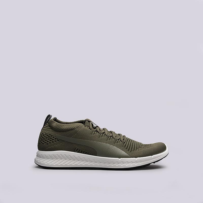Кроссовки Puma Ignite Evoknit 3DКроссовки lifestyle<br>текстиль, резина<br><br>Цвет: Зеленый<br>Размеры UK: 7;8<br>Пол: Мужской