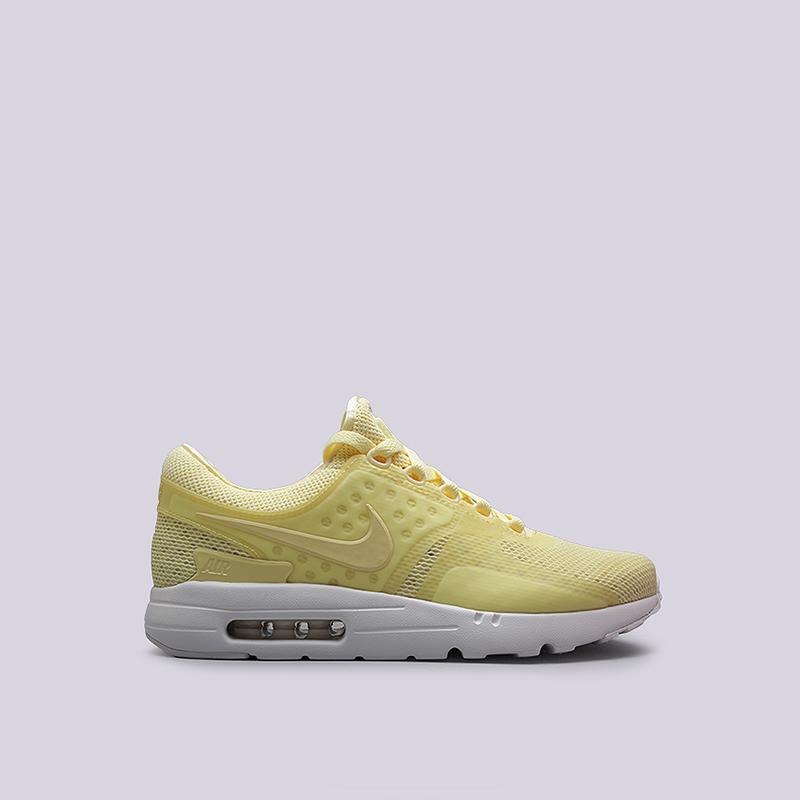 Кроссовки Nike Sportswear Air Max Zero BRКроссовки lifestyle<br>пластик, текстиль, резина<br><br>Цвет: Желтый<br>Размеры US: 8;8.5;9;9.5;10;10.5;11;11.5<br>Пол: Мужской