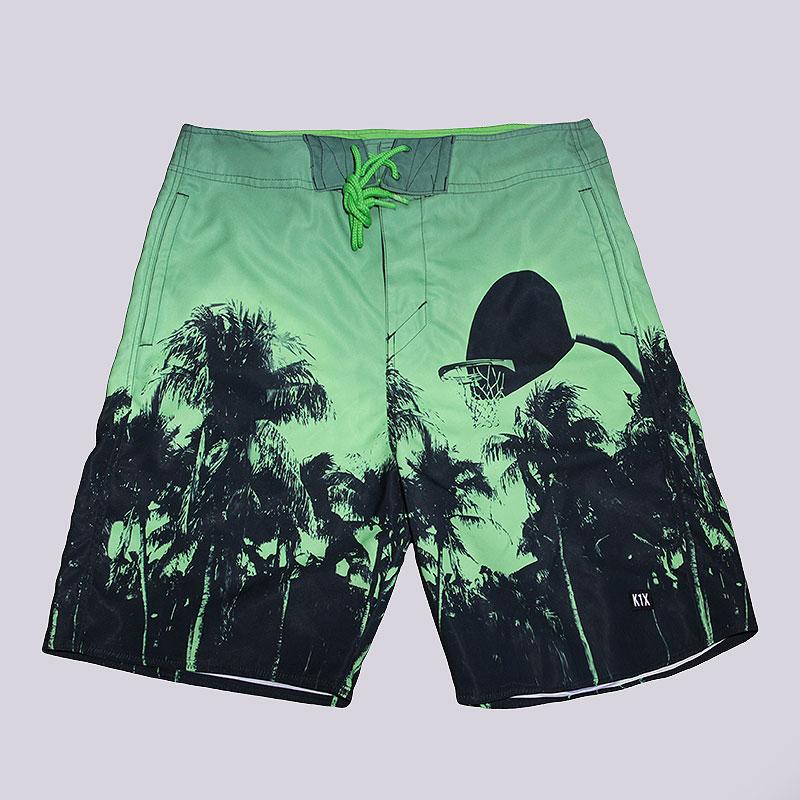 Шорты K1X Paradise BoardshortsШорты<br>100% полиэстер<br><br>Цвет: Зеленый<br>Размеры US: XL<br>Пол: Мужской