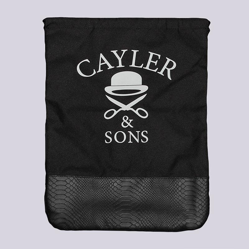 Мешок Cayler &amp; sons CAY-AW14-GB-03Сумки, рюкзаки<br>Поиэстер<br><br>Цвет: Черный<br>Размеры : OS