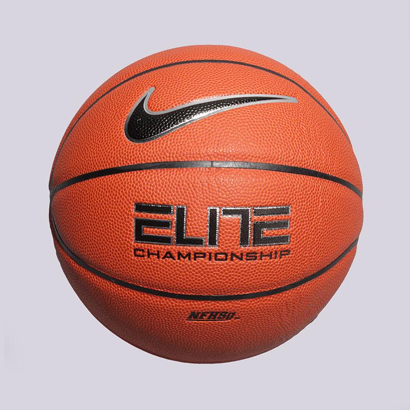 Мяч Nike №7Мячи<br>Композитная кожа<br><br>Цвет: Оранжевый<br>Размеры US: 7