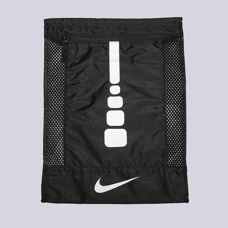 Мешок Nike Hoops Elite GymsackСумки, рюкзаки<br>Нейлон<br><br>Цвет: Черный<br>Размеры US: OS