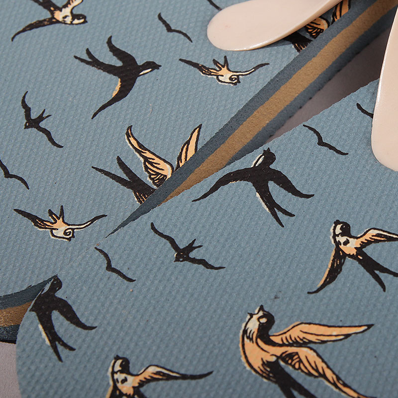 мужские синие  сланцы запорожец heritage lastochki Lastochki-dk.blue - цена, описание, фото 4