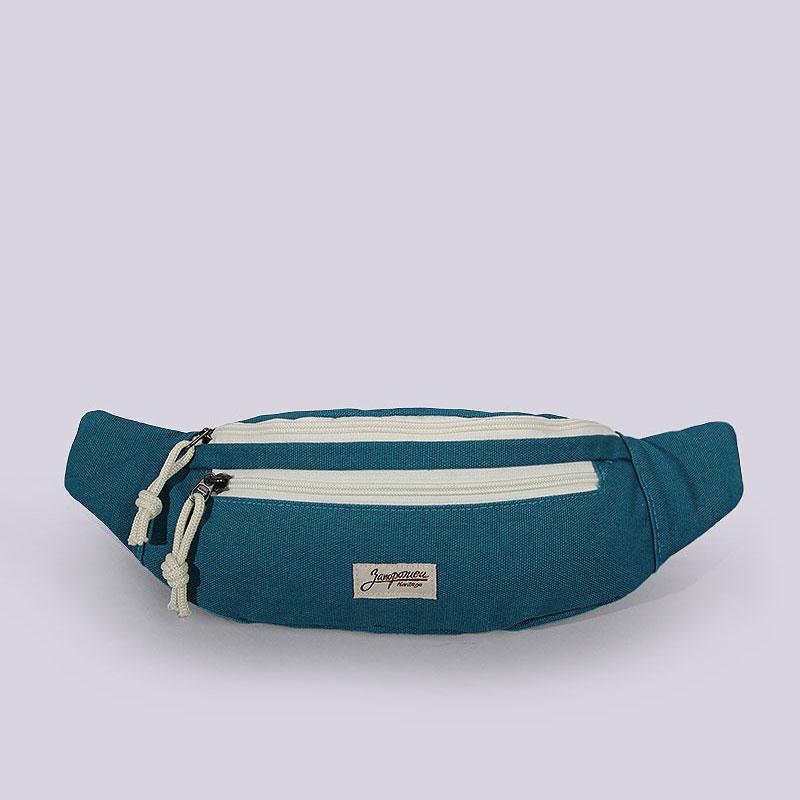 Сумка на пояс Запорожец heritage SmallerWaistСумки, рюкзаки<br>Хлопок<br><br>Цвет: Голубой<br>Размеры : OS