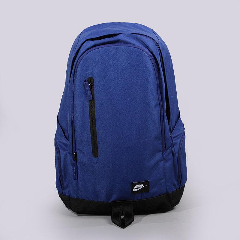 Рюкзак Nike Sportswear All Access FullfareСумки, рюкзаки<br>Нейлон<br><br>Цвет: Синий, черный<br>Размеры US: OS