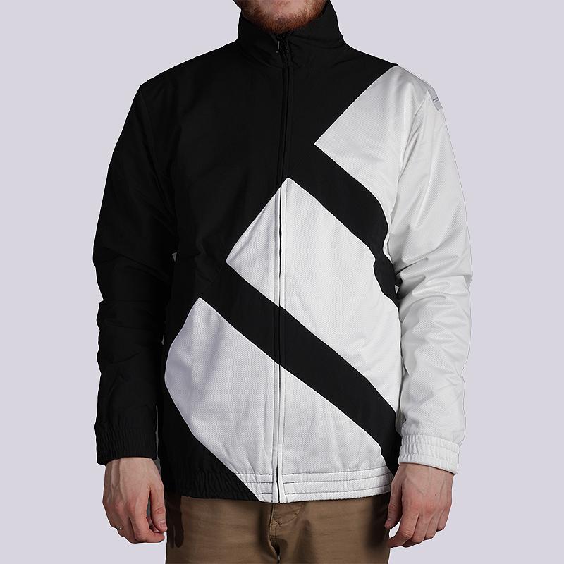 Куртка adidas Originals EQT Superstar Bold Track JacketКуртки, пуховики<br>90% нейлон, 10% эластан<br><br>Цвет: Черный<br>Размеры UK: M<br>Пол: Мужской