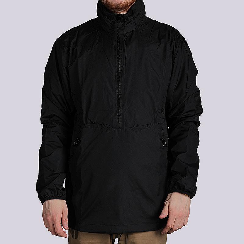 Куртка adidas Originals EQT Vintage WindbreakerКуртки, пуховики<br>100% нейлон<br><br>Цвет: Черный<br>Размеры UK: M<br>Пол: Мужской