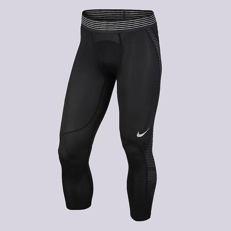 Брюки Nike Pro HypercoolКомпрессионное белье<br>полиэстер, эластан<br><br>Цвет: Черный<br>Размеры US: S;M;L;XL;2XL<br>Пол: Мужской