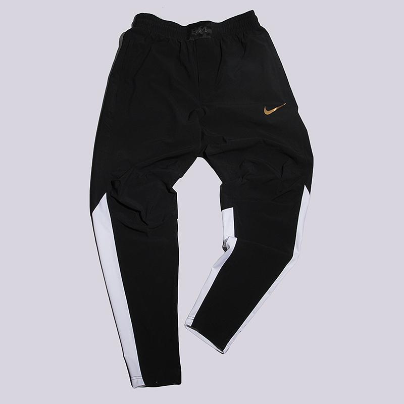Брюки Nike M NK Pant MVP BHMБрюки и джинсы<br>67% нейлон, 19% полиэстер, 14% эластан<br><br>Цвет: Черный<br>Размеры US: S;L;XL<br>Пол: Мужской