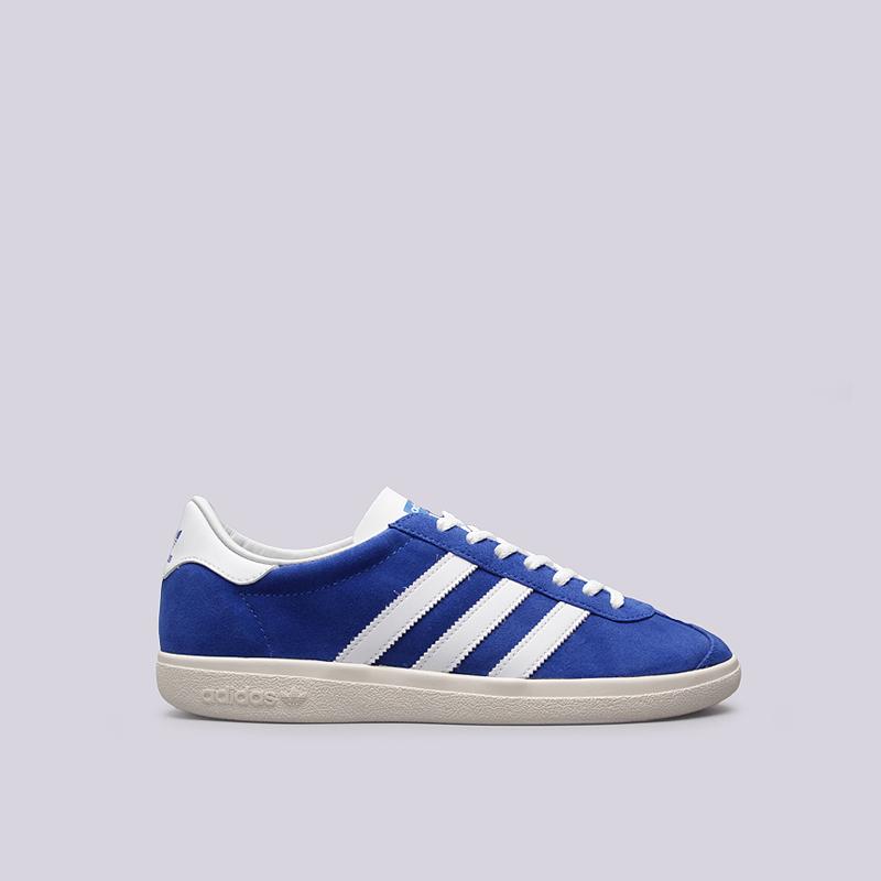 Кроссовки adidas Originals Jogger SPZLКроссовки lifestyle<br>кожа, текстиль, резина<br><br>Цвет: Синий<br>Размеры UK: 8.5<br>Пол: Мужской
