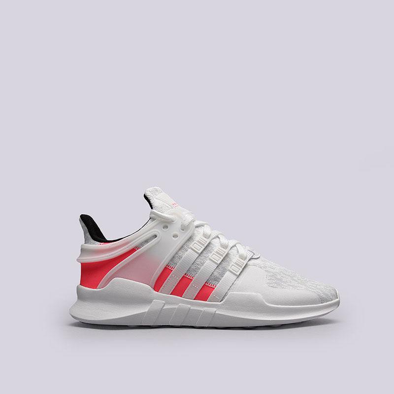 Кроссовки adidas Originals EQT Support ADVКроссовки lifestyle<br>Текстиль, резина<br><br>Цвет: Белый, черный, розовый<br>Размеры UK: 7