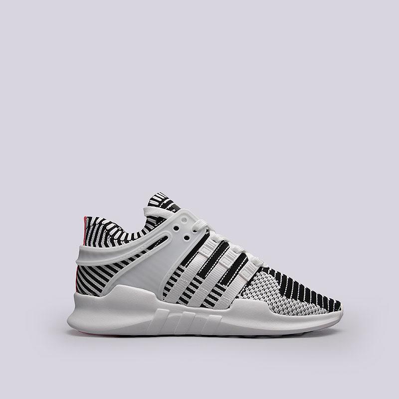 Кроссовки adidas Originals EQT Support ADV PKКроссовки lifestyle<br>Текстиль, резина<br><br>Цвет: Черный, белый, розовый<br>Размеры UK: 6